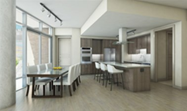 Living/Kitchen at Listing #264079