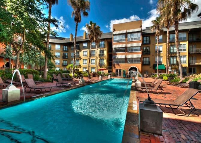 Pool at Listing #139128