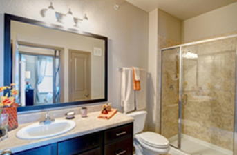 Bathroom at Listing #253222