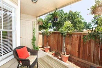 Patio at Listing #139199