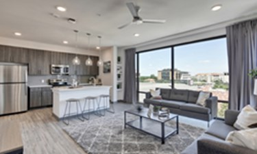 Living/Kitchen at Listing #283294