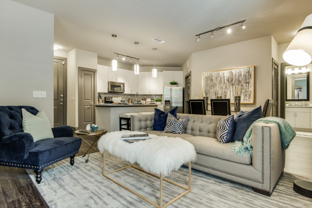 Living/Dining at Listing #275301