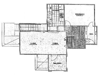 829 sq. ft. to 831 sq. ft. floor plan