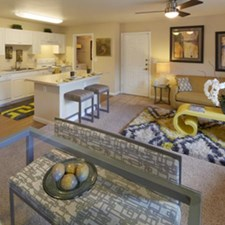 Living/Kitchen at Listing #140600