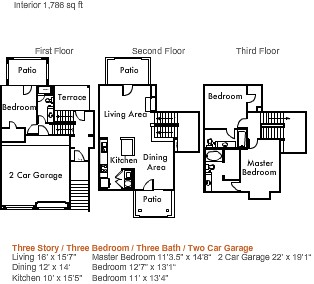 1,786 sq. ft. to 2,150 sq. ft. 4c1thgg floor plan