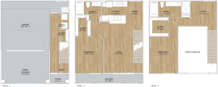 1,505 sq. ft. Providence floor plan
