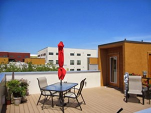 Rooftop Deck at Listing #136565