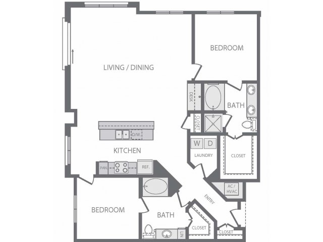 1,462 sq. ft. to 1,513 sq. ft. B10 floor plan