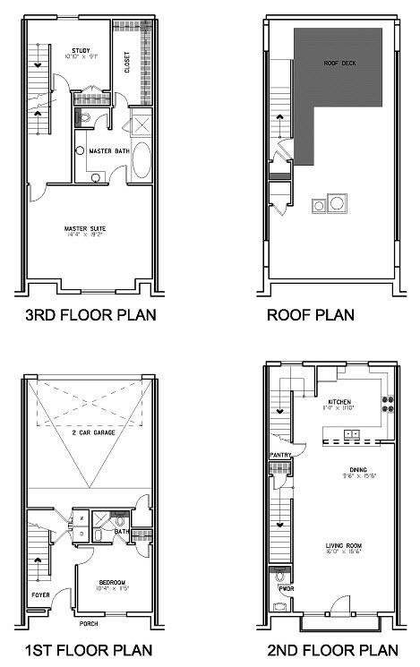 2,074 sq. ft. Floor Plan A floor plan