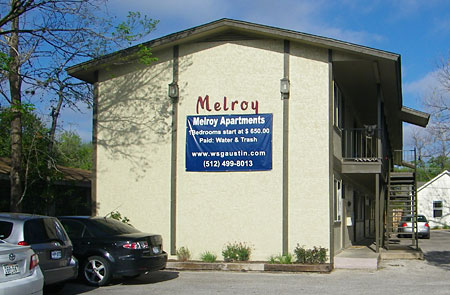 Melroy Apartments Austin TX