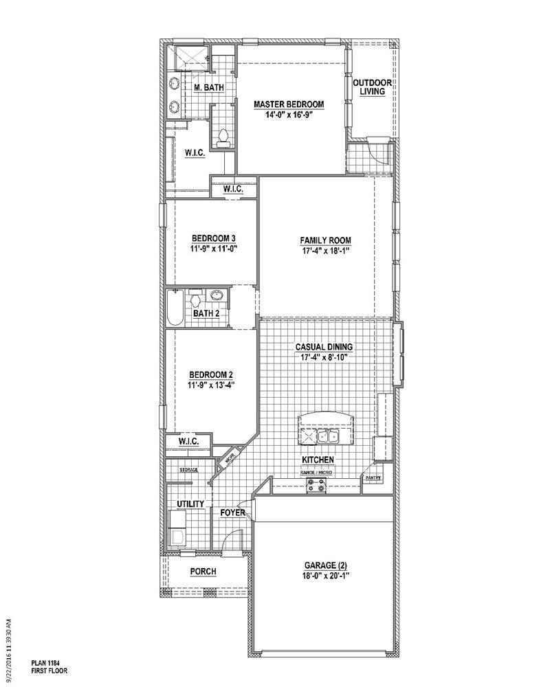 1,844 sq. ft. floor plan