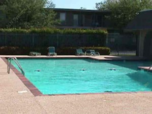Pool Area at Listing #136312