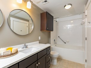 Bathroom at Listing #147805