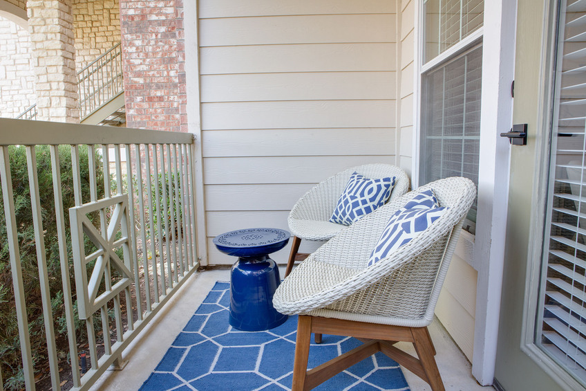 Patio at Listing #145000