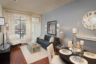 Living/Dining at Listing #145099