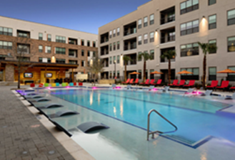 Pool at Listing #299700