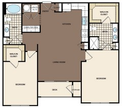 1,171 sq. ft. C1-alt1 floor plan