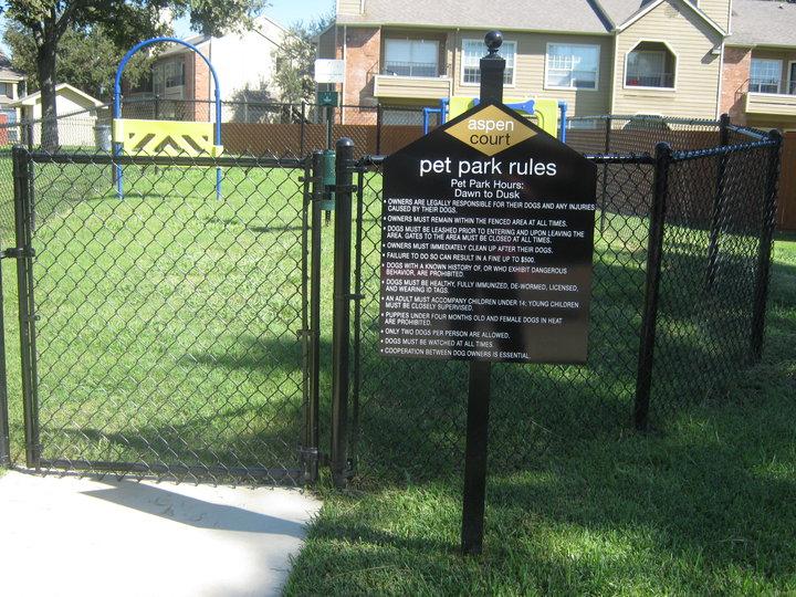 Dog Park at Listing #136820