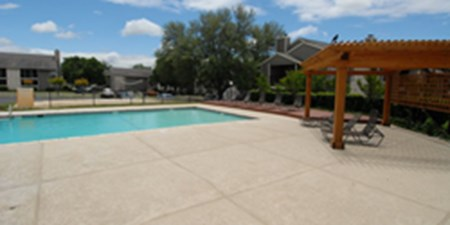 Pool at Listing #140819