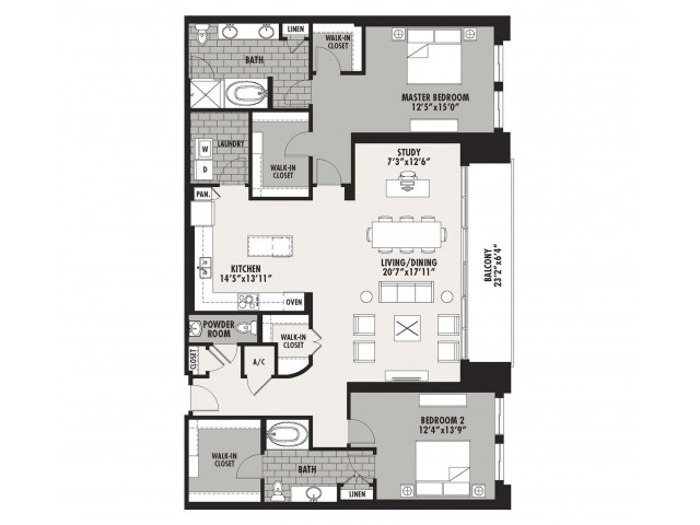 1,994 sq. ft. Preston(B.9) floor plan