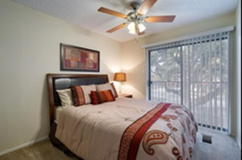 Bedroom at Listing #140214
