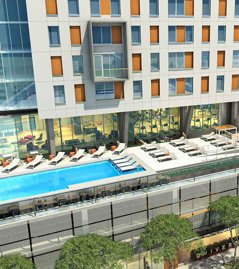Pool at Listing #276465