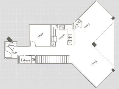 2,081 sq. ft. P7 floor plan