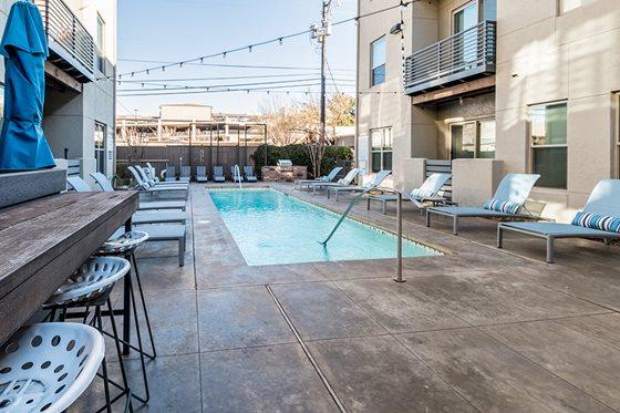 Pool at Listing #228084