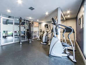 fitness center at Listing #139443