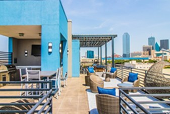 Rooftop Deck at Listing #226315