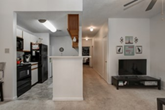 Living/Kitchen at Listing #232477