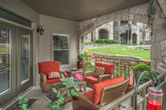 Patio at Listing #141309