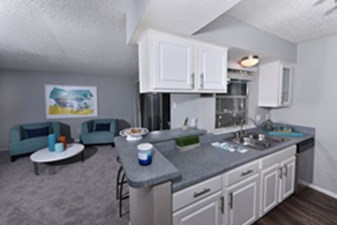 Living/Kitchen at Listing #136847