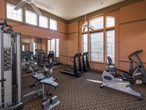 fitness center at Listing #144430