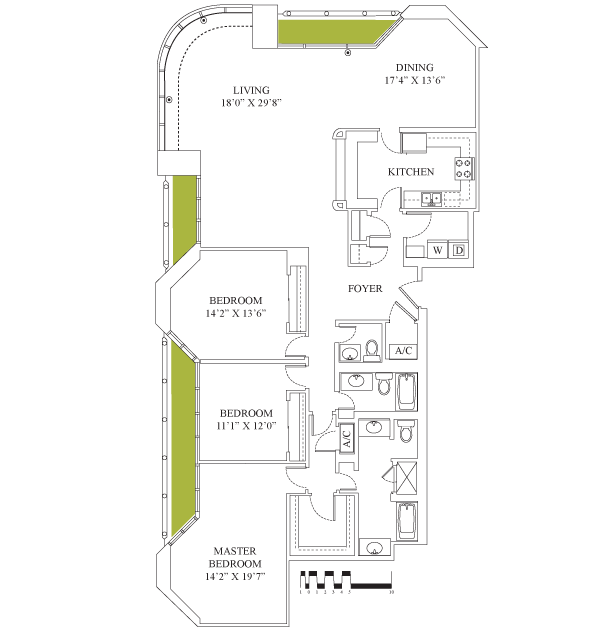 2,321 sq. ft. floor plan