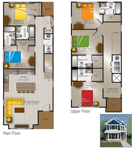 2,123 sq. ft. Austin 2(Cottage) floor plan
