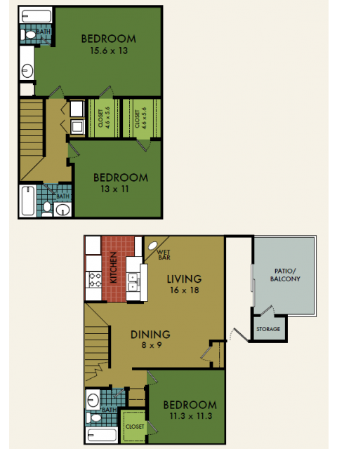 1,441 sq. ft. floor plan