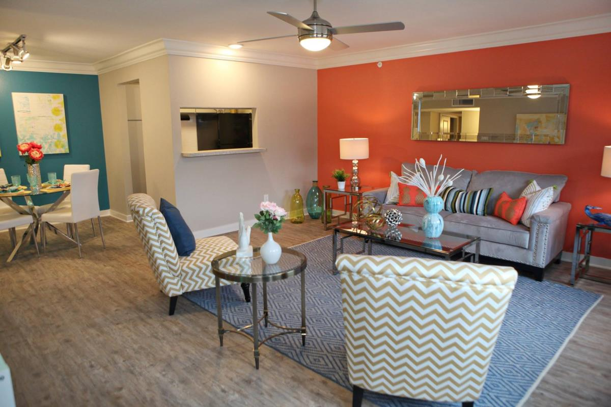Living/Dining at Listing #138273