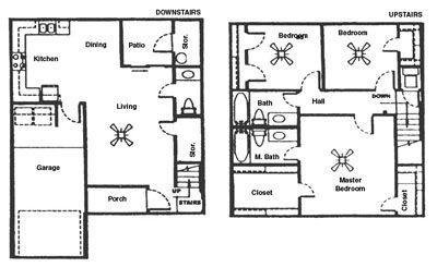 1,585 sq. ft. F floor plan