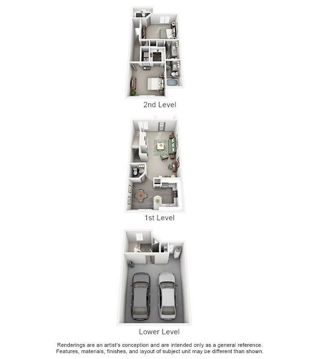 1,372 sq. ft. OASIS floor plan