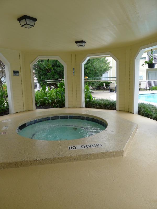 Hot Tub at Listing #138315