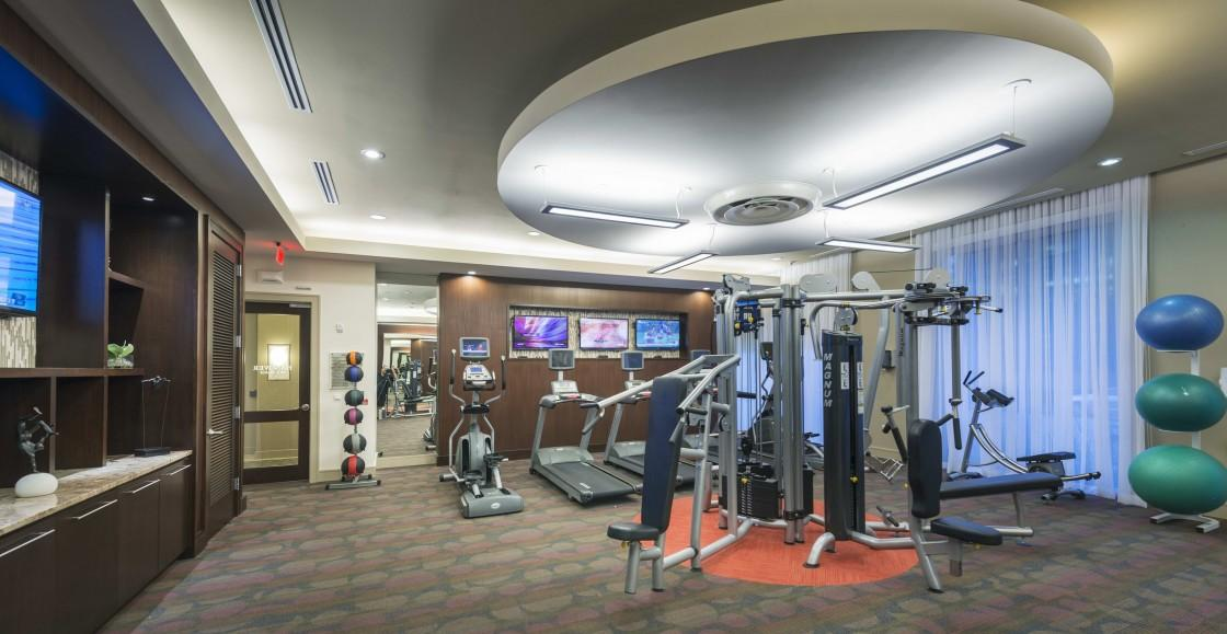 Fitness Center at Listing #151521