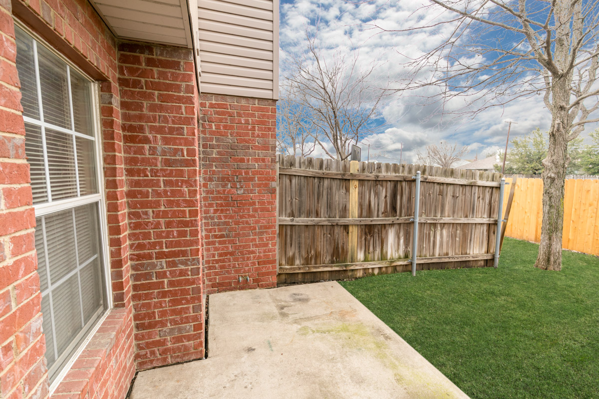 Patio at Listing #137925