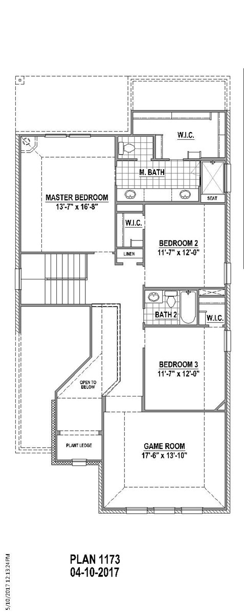 2,606 sq. ft. floor plan