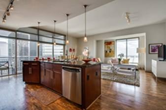 Living/Kitchen at Listing #146430