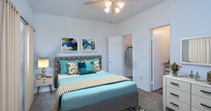 Bedroom at Listing #140373