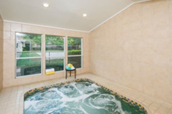 Hot Tub at Listing #141406
