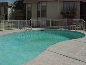 Pool Area at Listing #136309