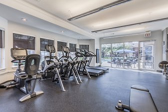 fitness center at Listing #136320