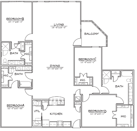 2,292 sq. ft. floor plan